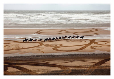 EVEWRIGHT, 'Walking Drawings: Cumbrian Heavy Horses I', 2014