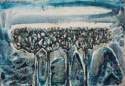 Laxman Pai, 'Pine Trees', 1964