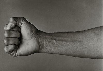 "John Stewart, 'Muhammad Ali, ""Fist & Arm"", Chicago', 1977"