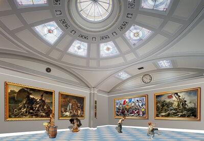 Gully, 'Children meet Géricault Delacroix and Buffet 1', 2017
