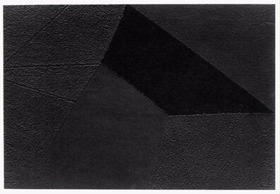 Alberto Burri, 'Mixoblack 6', 1990