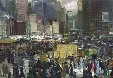 George Wesley Bellows, 'New York', 1911
