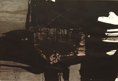Manolo Millares, 'Sin título', 1964