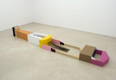 Amba Sayal-Bennett, 'JK Stretch,2016,MDF and paint,47 x 449 x 71 cm', 2016