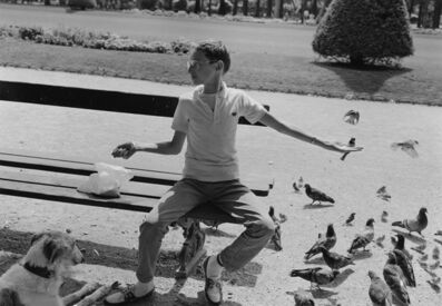 Mark Steinmetz, 'Champ de Mars, Paris', 1985