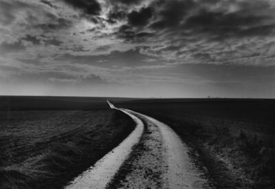 Don McCullin, 'Road to the battlefields, Somme, France', 2000