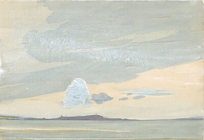 Ernst Gradmann, 'Insel Reichenau', 1919