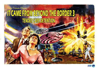 Angel Cabrales, 'It Came From Beyond the Border 3', 2018