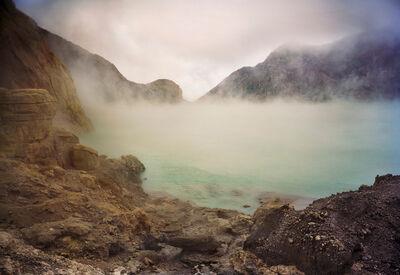 Meridel Rubenstein, 'Acid Crater Lake, Kawah Ijen Volcano, East Java, Indonesia', 2010