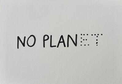Dan Perjovschi, 'No Plan (No Planet)', 2019