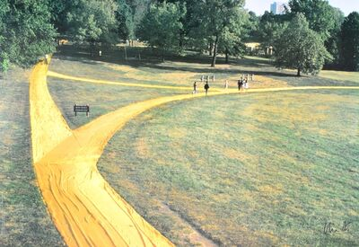 Christo and Jeanne-Claude, 'Wrapped Walk Ways', 1970-1980