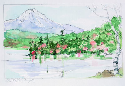 Marguerite Robichaux, 'Rainbow Lake'