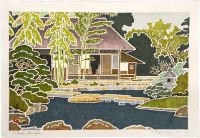 Toshi Yoshida, 'Stone Bridge', 1964