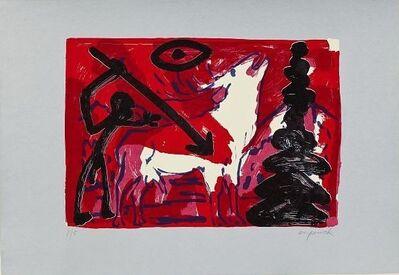A.R. Penck, 'Kleiner Hirsch VI (Little stag)', Unknown