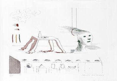 David Hockney, 'A Moving Still Life', 1976-1977