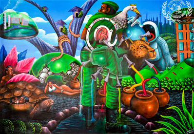 Bodo Fils BBM (M'Pambu Bodo Bodo), 'Covid-19! Où va le monde? ', 2020