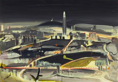 Hoin Lee, 'Namhansanseong West Gate Nightscape', 2017