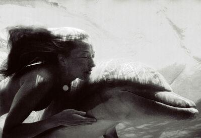 Nomi Baumgartl, 'Connected, Tatjana Patitz and Cayla, Dolphins', 2000