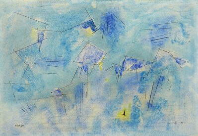 Lyonel Feininger, '»Space«', 1954