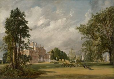 John Constable, 'Malvern Hall', 1821