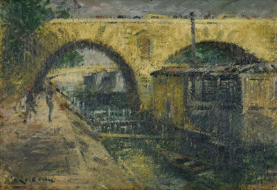 Gustave Loiseau, 'Pont Marie, Paris', Late 20th Century
