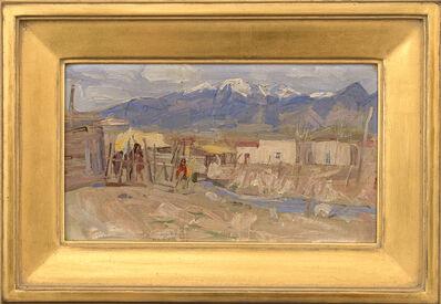 Leon Gaspard, 'Taos Landscape'