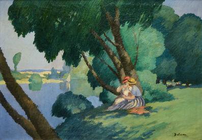Gaston Balande, 'Déjeuner au bord de la Seine', 1880-1971