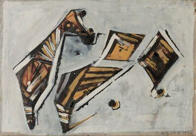 Marino Marini, 'Cavallo in sezione', 1952
