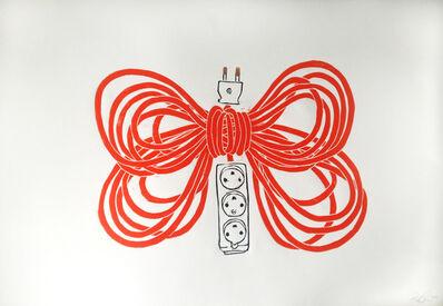 Rose Eken, 'Butterfly Extension (Orange)', 2014