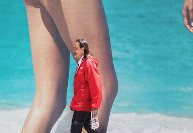 Neil O. Lawner, 'Man & Legs, Times Square '