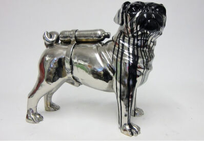 William Sweetlove, 'Cloned English Bulldog with Petbottle ', 2012