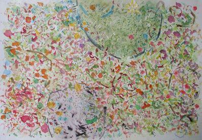 Phillip Alder, 'Rock And A Garden Pond', 2018