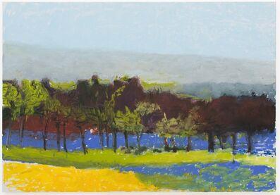 Wolf Kahn, 'Pale Gray at the Horizon', 2016