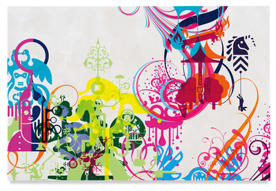 Ryan McGinness, 'Mindscape 69', 2019