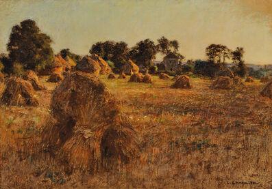 Léon Augustin Lhermitte, 'The Hayfield'