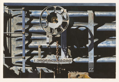 Robert Cottingham, 'Rolling Stock Series Study', 1990