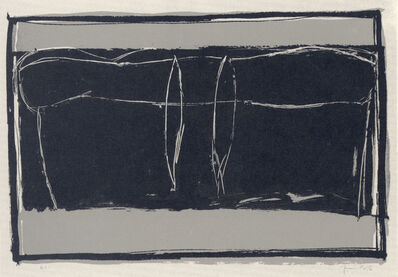 Joan Hernández Pijuan, 'Landscape 3', 1987