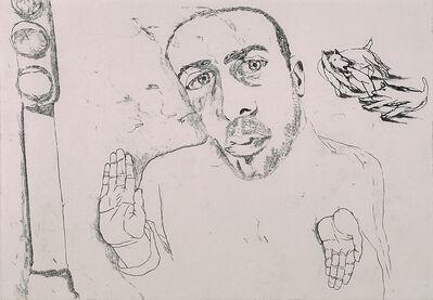 Francesco Clemente, 'Self-Portrait #6 (Spotlight)', 1981