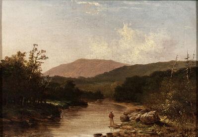 Walter Mason Oddie, 'Fishermen by a Mountain Stream'