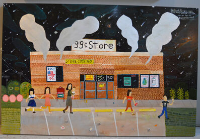 Esther Pearl Watson, '99 Cent Store', 2017