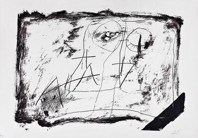 Antoni Tàpies, 'LLambrec 11', 1975