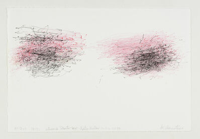 William Anastasi, 'Without Title (Walking Drawing, 10.3.10, 18:32, Abroad Toronto-nyc, Porter airline 10.1.10, 22:56)', 2010