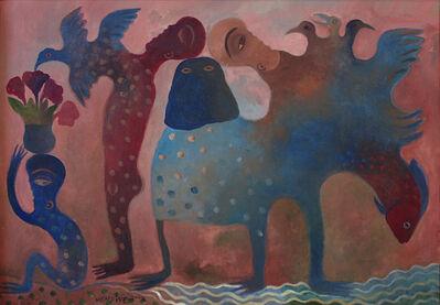 Manuel Mendive, 'Búcaro con flores', 2009