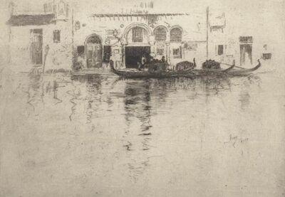 Robert Frederick Blum, 'Venetian Canal', 1880-1886