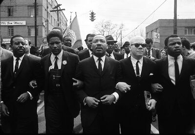 Steve Schapiro, 'Martin Luther King, Jr. with Group (Forman, Abernathy, Douglas, Lewis) ', 1965