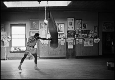 Thomas Hoepker, 'Muhammad Ali in gym training', 1966