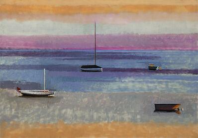 John Evans, 'Four Boats', 2017