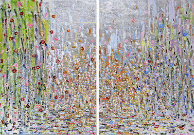 Michelle Sakhai, 'East Meets West Part I and II (Diptych)', 2017