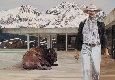 Tracy Stuckey, 'A Man and His Buffalo '