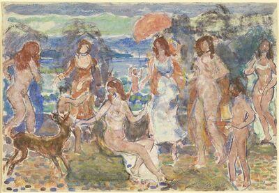 Maurice Brazil Prendergast, 'Distance Hills, Maine', 1912-1915